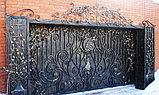 Изготовление металлических ворот, фото 2