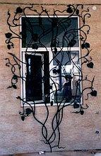 Открывающие решетки на окна