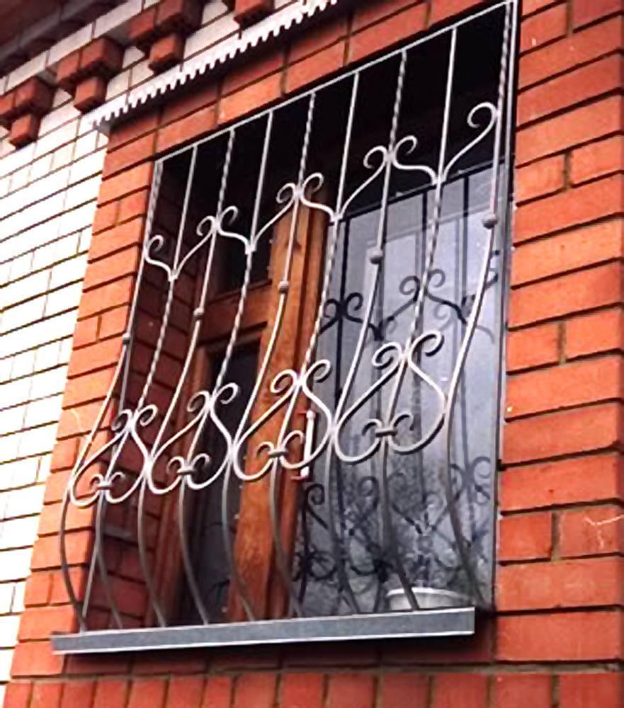Открывающиеся решетки на окна