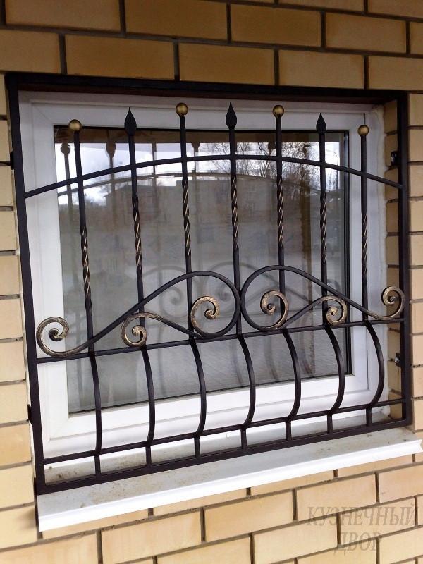 Решетка на пол окна