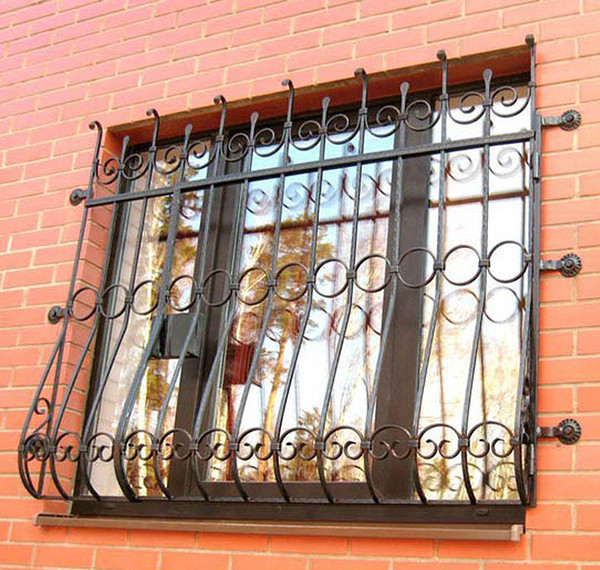 Красивые кованые решетки на окна