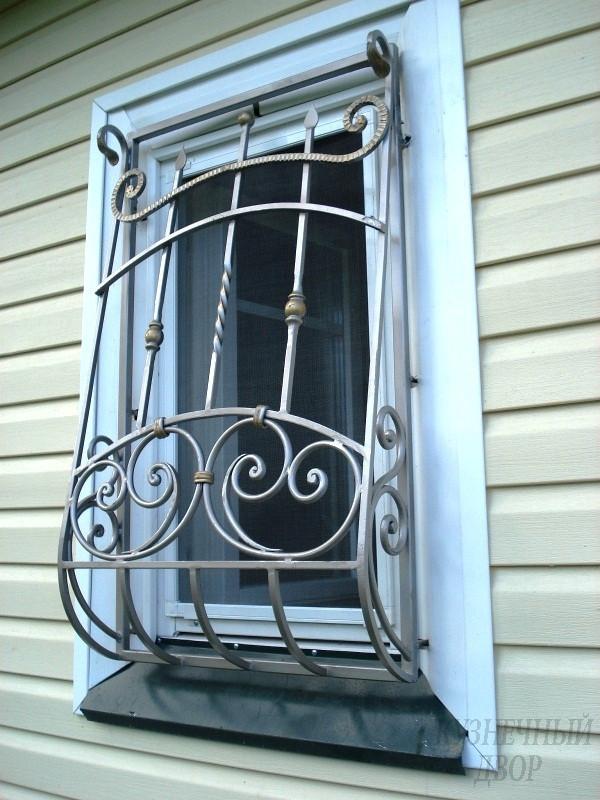 Необычные решетки на окна