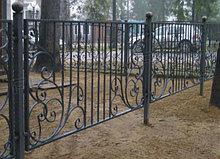 Ворота забор из металла