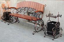 Скамейки из металла