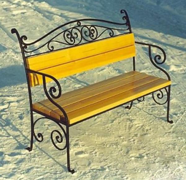 Кованые лавочки столы