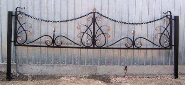 Красивые оградки