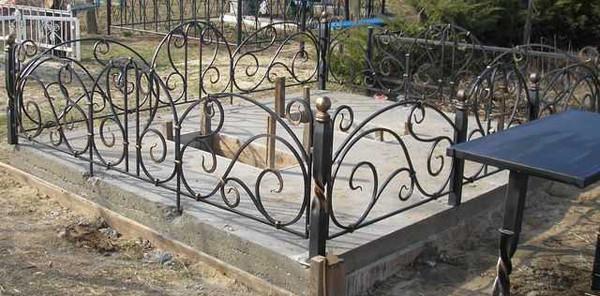 Кованые ограды роза