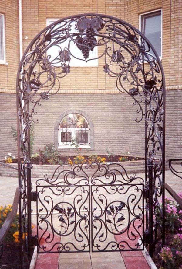 Ажурные свадебные арки