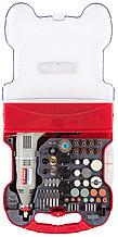 Гравер электрический Зубр с набором насадок в кейсе, 172 предмета