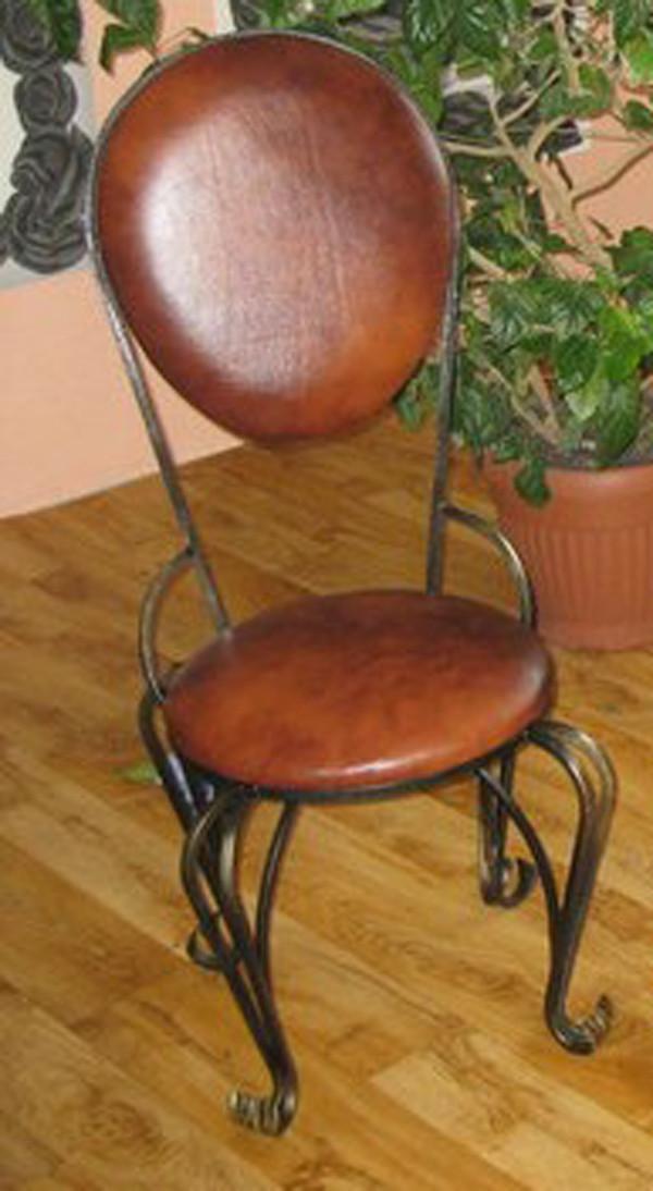 Кованый барный стульчик