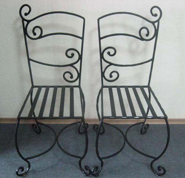 Кованые барные стульчики