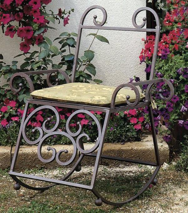 Кресла кованые