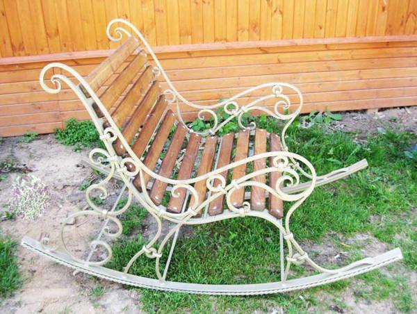 Кресло ковка