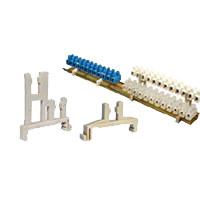 Адаптер одноярусный на DIN-рейку для клеммных колодок сечением 2,5-10 мм2