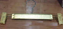 Вешалка брючная, золото, 300 мм