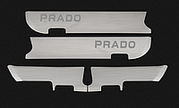 Защитные накладки на двери TLC Prado 150, фото 1