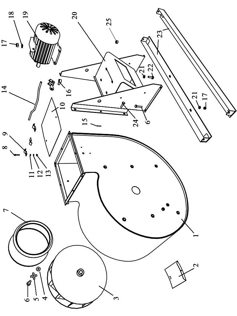 ЗВТ 81.150 Вентилятор