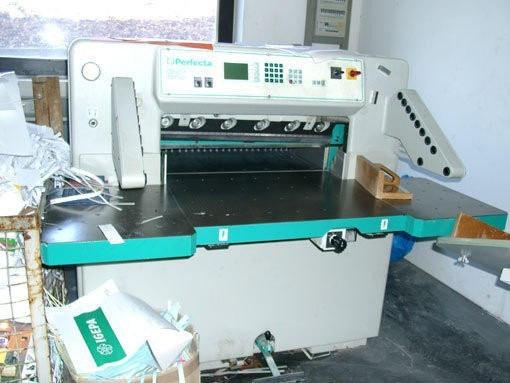 Perfecta 76 SC б/у 1997 г. - бумагорезальная машина