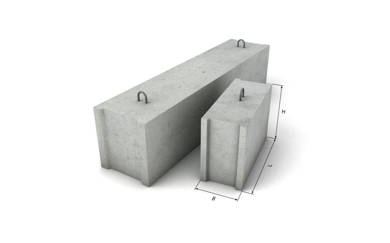 Фундаментный блок ФБС 4-5-6
