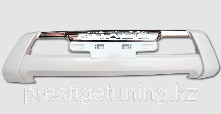 Губа переднего бампера  TLC Prado 150 2014-17