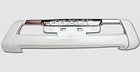 Накладка (губа) переднего бампера на Land Cruiser Prado 150 2014-17 Белый жемчуг (070), фото 1