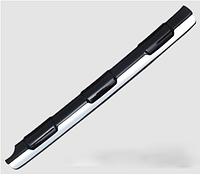 Накладка с хромом на задний бампер TLC Prado 150 2014-17, фото 1