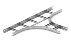 Тройник для лестничного лотка НЛО 200х100х3000