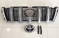 Решетка радиатора на Land Cruiser Prado 150 2014-17 под оригинал