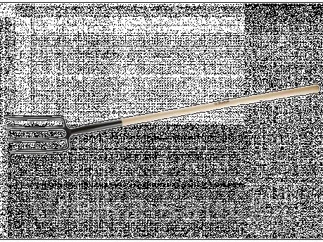 Вилы садовые ЗУБР 4-39444, ЭКСПЕРТ, из нержавеющей стали, деревянный черенок из ясеня, 290 х 180 х 1470 мм , фото 2