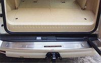 Накладка нержавейка на задний бампер TLC Prado 150 2014-17