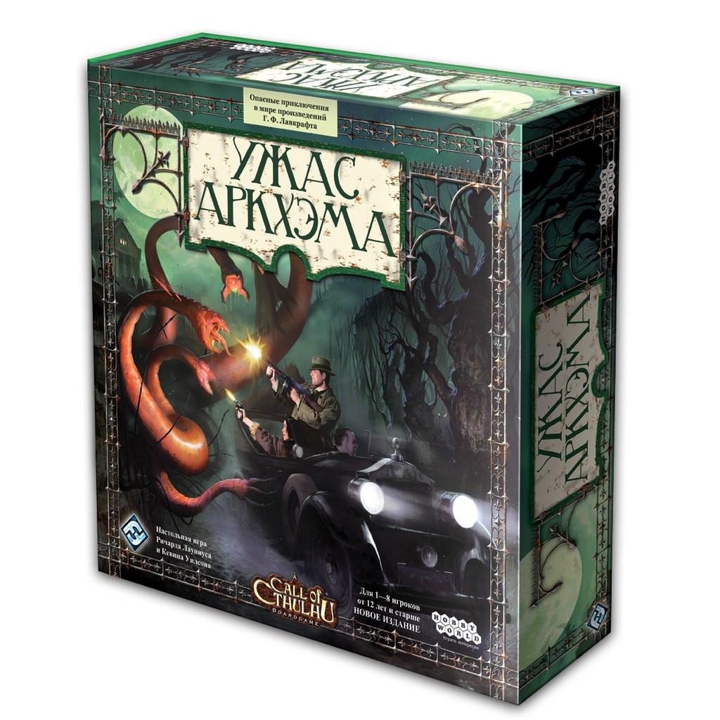 Настольная игра: Ужас Аркхэма (новая версия)