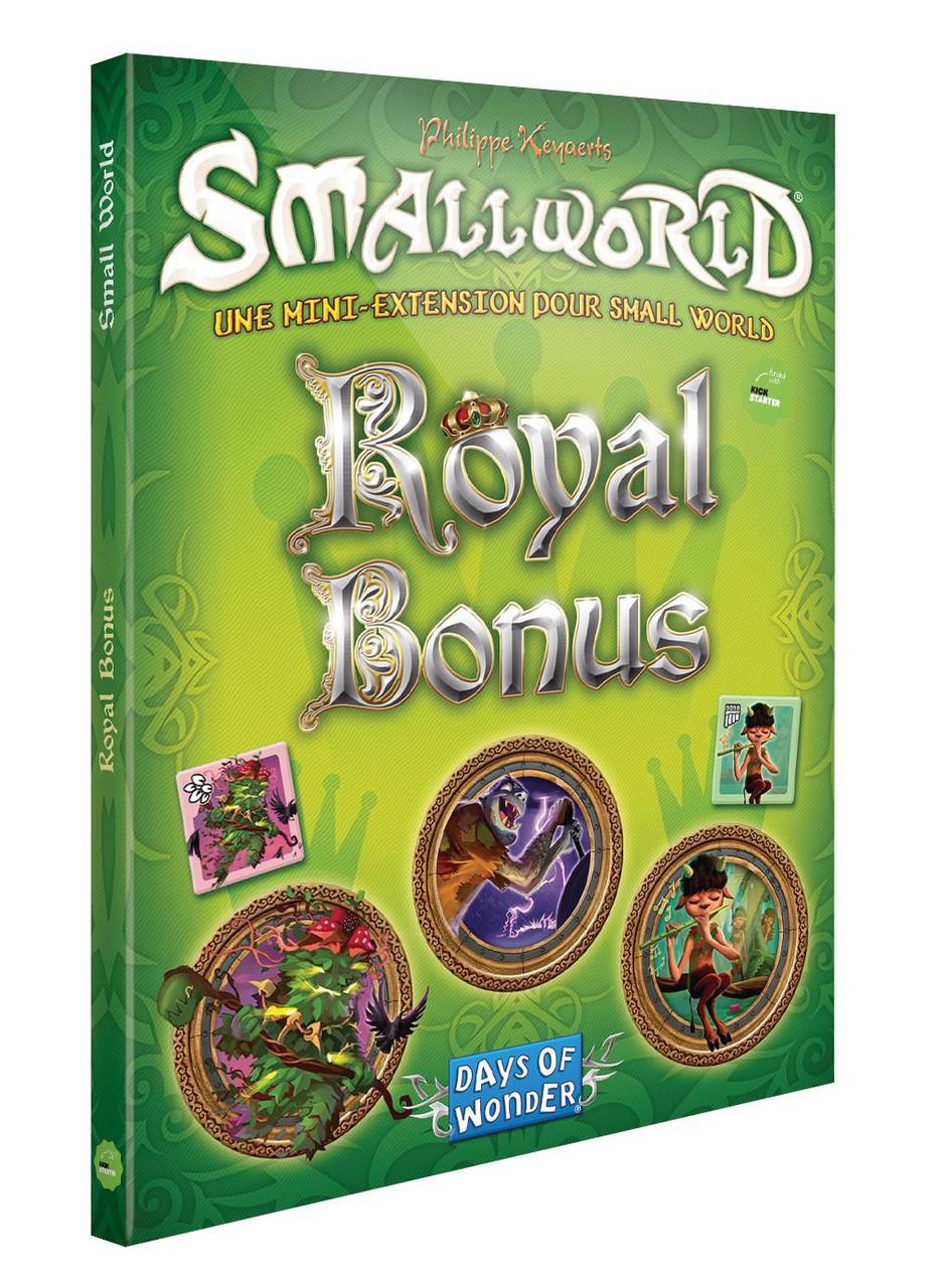 Настольная игра: Small World Royle Bonus: Маленький мир Корлевский бонус. Доп., арт.