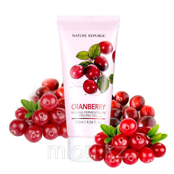 Пилинг-скатка с клюквой Nature Fermentation Cranberry Peeling Gel,120мл