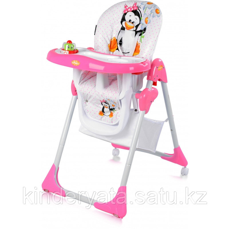 Стульчик для кормления Bertoni Yam Yam  Pink pinguin