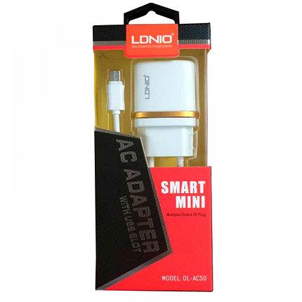 Зарядное устройство LDNIO Micro USB DL-AC50, фото 2