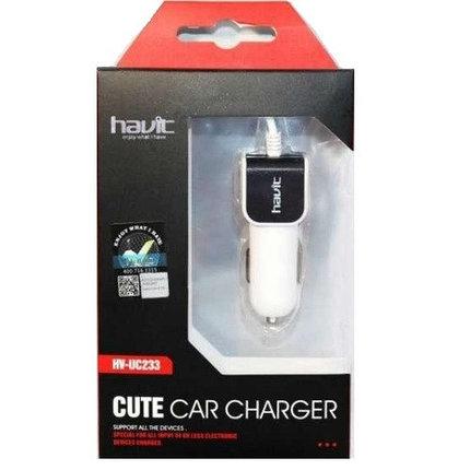 Автомобильное зарядное устройство HAVIT Micro USB, фото 2