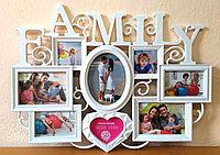 """Фоторамка """"Family"""", на 8 фото, фото 1"""