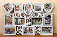 """Фоторамка """"Love"""", на 12 фото, фото 1"""
