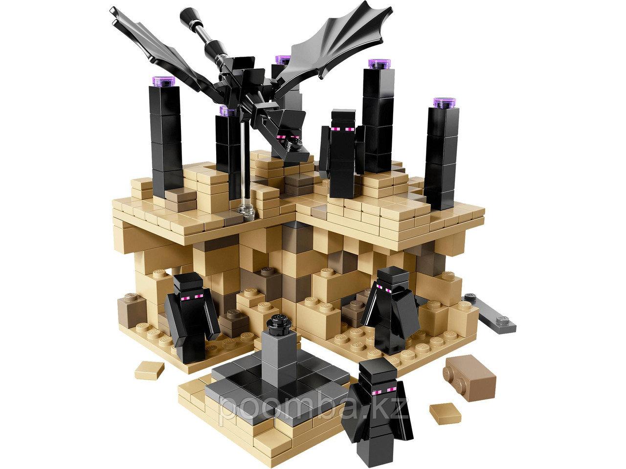 """Конструктор Minecraft""""Край""""440 дет."""