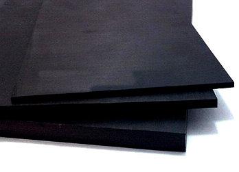 Вспененный листовой ПВХ (5мм) черный 1,22мХ2,44м; плотность - 0,60