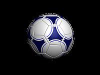 Мяч футбольный кожаный Пакистан, фото 1