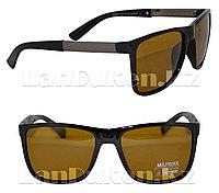Очки солнцезащитные черные (POLAROID) Антифары