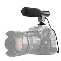 Накамерный микрофон MIC-01 мини для Canon/ Nikon от ISHOOT