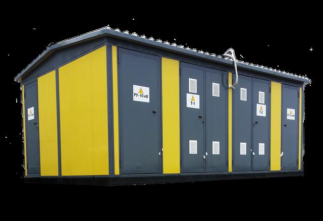 Трансформаторные подстанции 2КТПуМБ 25-2500кВА, 10(6)/0,4кВ утепленные модульно-блочные