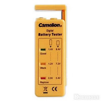 Тестер заряда батарей, CAMELION, BT-0503