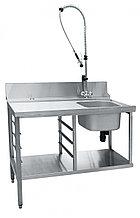 Стол предмоечный СПМП-6-3 для купольных посудомоечных машин