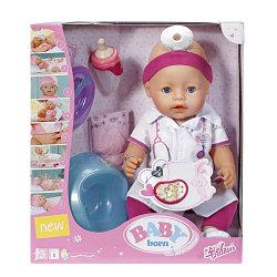 Baby Born Кукла Доктор Интерактивная, 43 см