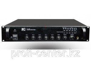ITC TI-120-(5-ти зональный микширующий  Усилитель 120 Вт, 1+2 микр./4 лин. входа, 2U)