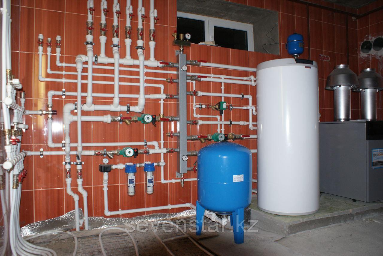 Отопление и сантехнические работы
