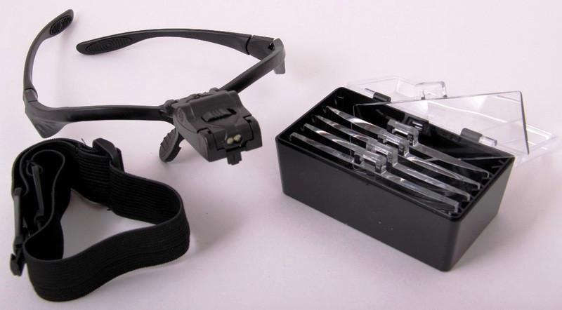 Лупа-очки бинокулярная NO.9892B